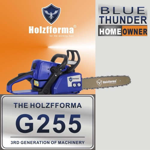 45.4cc Holzfforma® Blue Thunder G255 Gasoline Chain Saw Power Head Only Without Guide Bar and Saw Chain All Parts Are For MS250 MS230 MS210 025 023 025 Chainsaw