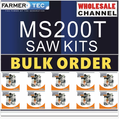 MS200T 10 SAWKITS BULK ORDER(Minimum Order Quantity 10 Sets) Complete aftermarket repair kits For Stihl MS200T 020T