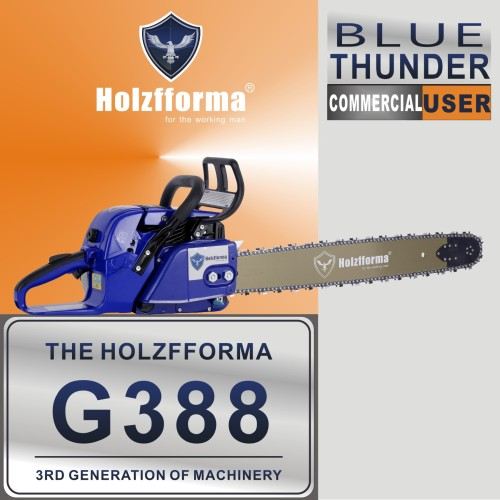 72cc Holzfforma® Blue Thunder G388 Gasoline Chain Saw Power Head Only Without Guide Bar and Saw Chain All Parts Are For 038 038 AV 038 MS380 MS381 MAGNUM Chainsaw