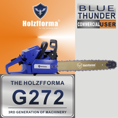 72cc Holzfforma® G272 Gasoline Chain Saw Power Head With Genuine Walbro Carburetor and Ignition Coil Without Guide Bar and Chain By Farmertec All Parts Are For HUSQ 61 268 272 XP Chainsaw