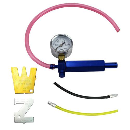Holzfforma® Carb Carburetor Leak Detector Pressure Test Gauge Walbro 57-21 Stens 705-020 With 2pcs Metering Lever Gauge