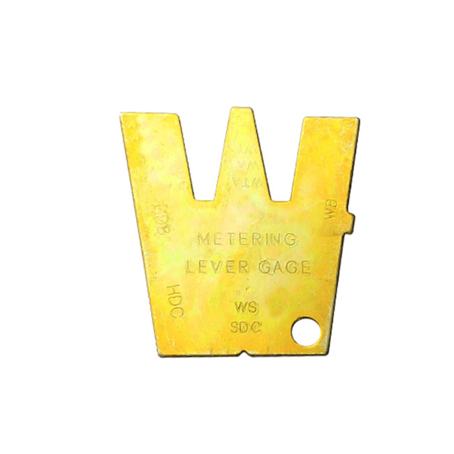 Carburetor Metering Lever Gauge Adjusterment Tool Compatible With Walbro Carb