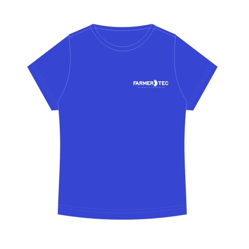 Farmertec Blue T-shirt (Size L, XL, XXL) For Fans