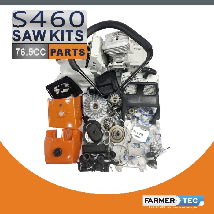 US STOCK - Farmertec Complete Aftermarket Repair Parts For Stihl MS460 046 Chainsaw Engine Motor 2-4 Days Delivery Time Fast Shipping For US Customers Only