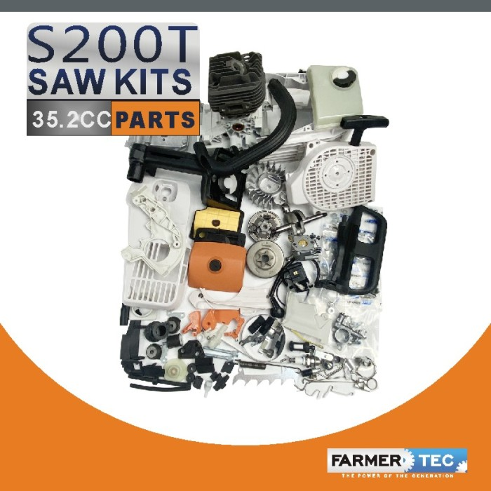 US STOCK - Farmertec Complete Aftermarket Repair Parts For Stihl MS200T 020T Chainsaw Engine Motor 2-4 Days Delivery Time Fast Shipping For US Customers Only