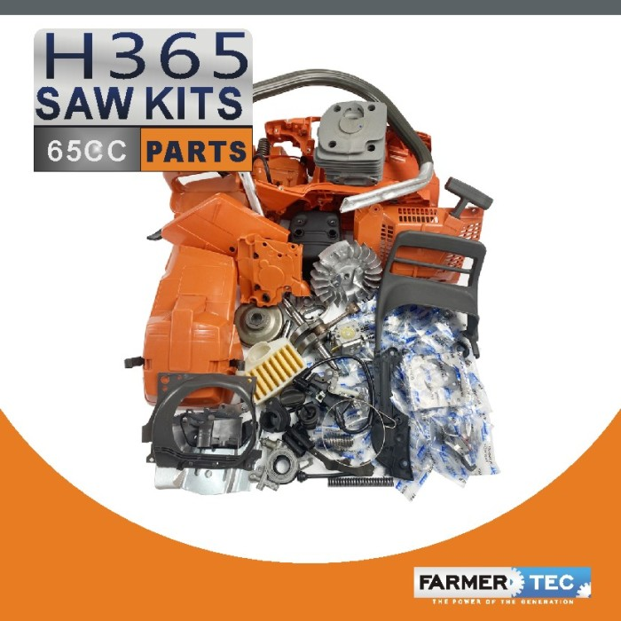 US STOCK - Farmertec Complete Aftermarket Repair Parts For Husqvarna 365 362 371 372 372XP Chainsaw Engine Motor 2-4 Days Delivery Time Fast Shipping For US Customers Only