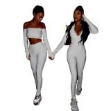Long Sleeve Sport Jumpsuit For Women 1735937