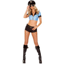 Sexy Women Adult Police Costume TBS1038