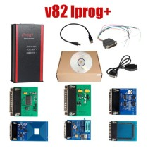 V82 Iprog+ Iprog Pro Programmer Support IMMO + Mileage Correction + Airbag Reset to year 2019 Replace Carprog Digiprog III Tango