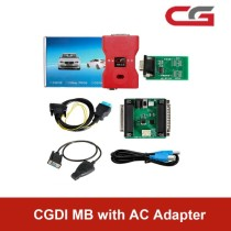CGDI MB Key Programmer with AC Adapter Work with Mercedes W164 W204 W221 W209 W246 W251 W166 for Data Acquisition via OBD