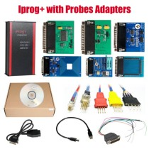 V83 Iprog+ Pro Programmer with Probes Adapters for in-circuit ECU
