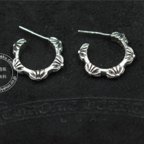 Chrome Hearts クロムハーツ イヤリング Crusaders Took Half Circle S925シルバー44042971776