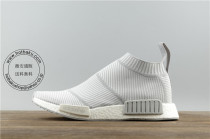アディダス 靴 Adidas NMD R1 City Sock Primeknit White Grey ニュセックス S32191
