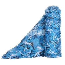 Bulk Roll Blue Camo Netting (4.9FT Width,Length Customiazation sell by Meter)