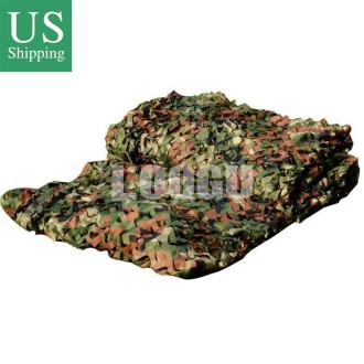 150D Polyester Oxford Many Sizes 87 Woodland Camouflage Netting To Choose