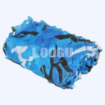 150D Polyester Oxford Many Sizes Ocean Camouflage Netting To Choose