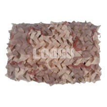 150D Polyester Oxford Many Sizes Three-Color Desert Camouflage Netting To Choose