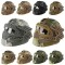 Fast Many Camo Colors Tactical Helmet Combined With Full Mask And Goggles For Airsoft Paintball CS