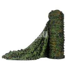 Flame Retardant Bulk Roll Woodland Camo Netting (4.9FT Width,Length Customiazation sell by Meter)