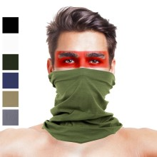 Pure Color Camo Multifunctional Seamless Bandanas Headband
