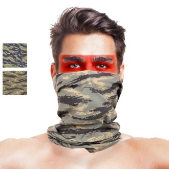 Tigerstripe Camo Multifunctional Seamless Bandanas Headwear