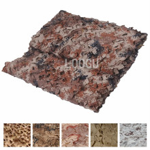 150D Polyester Oxford Many Sizes Desert Camouflage Netting To Choose