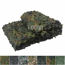 High Quality 210D Polyester Oxford Many Sizes Woodland Camouflage Netting To Choose