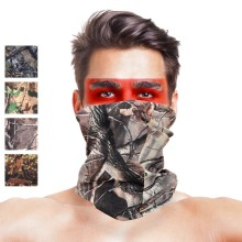 Hunting Blind Tree Camo Multifunctional Seamless Bandanas Headwear