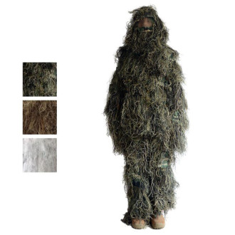 Burr Camouflage Ghillie Suit For Hunting, Wargames, Halloween