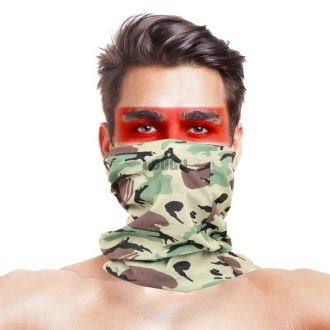 British Army Camo Multifunctional Seamless Bandanas Headwear