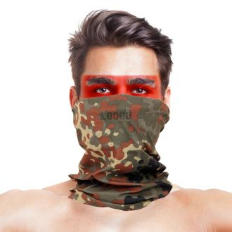 Germany Flecktarn Camo Multifunctional Seamless Headwear