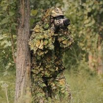 Maple Leaves Camouflage Ghillie Suit For Hunting, Wargames And Other Outdoor Activities