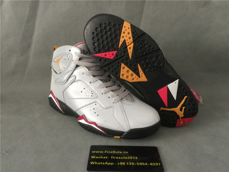 Authentic Air Jordan 7 Reflect Silver/Bronze