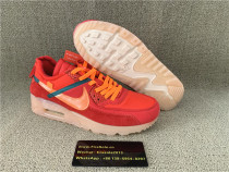 Authentic Nike Air Max 90 Red