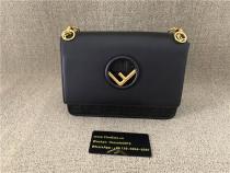 Authentic Fendl shoulder Bag Black