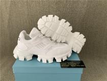 Authentic Pra da White Sneakers