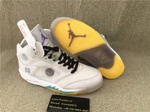 Authentic Air Jordan 5 Off White OW