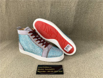 Authentic C.L Red Bottom Ankle Sneakers