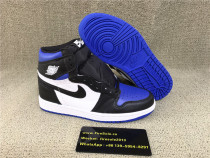 Authentic Air Jordan 1S GS Royal Toe