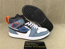 Authentic Facetasm x Air Jordan 1 MidFearless Ones