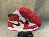 Authentic Air Jordan 1 theshoesurgeon #The North Pole Chicago