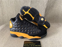 Authentic Air Jordan 13 Yellow UNT RED IT BLU BLK