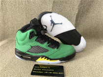 "Authentic Air Jordan 5 ""Oregon"""