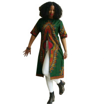 Green Dashiki Tall Shirts 21309