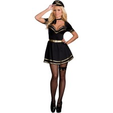 Wholesale Air Hostess Costume 14449