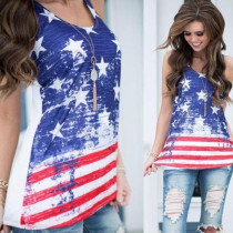 American Flag Tank Tops 21131