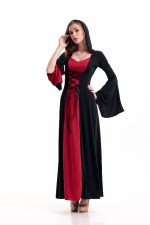 Deluxe Red Hooded Robe 17089-3