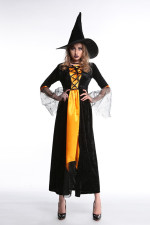 Adult Witch Costume for Halloween Carvinal 22641