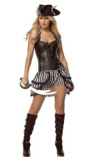 Sexy Pirate Costume 13760