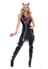 Devil Costumes Cuir 12696